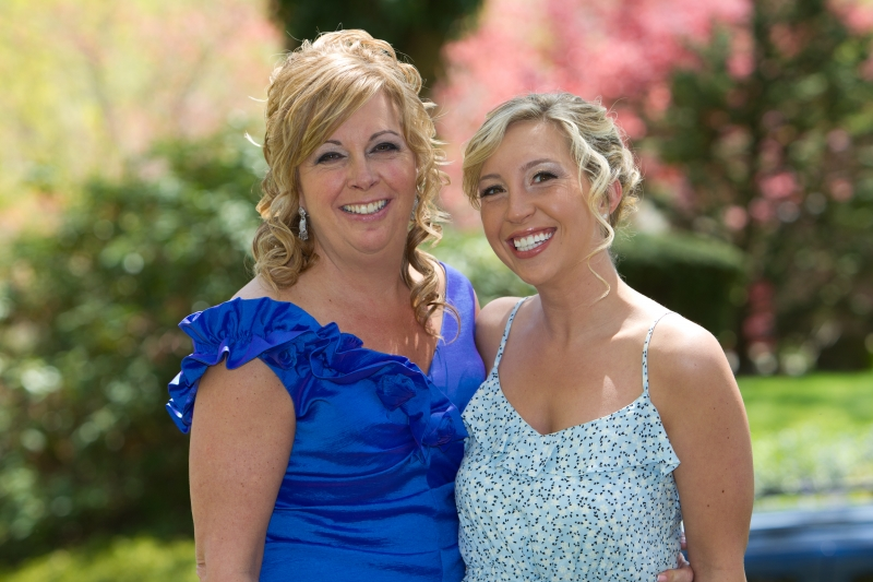 Bridal Hair - Mother daughter picture....breath taking.
