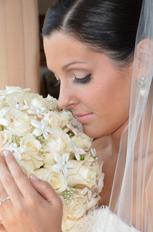 Nicole Sanders Wedding: she looks absolutely stunning - Bridal Makeup in CT