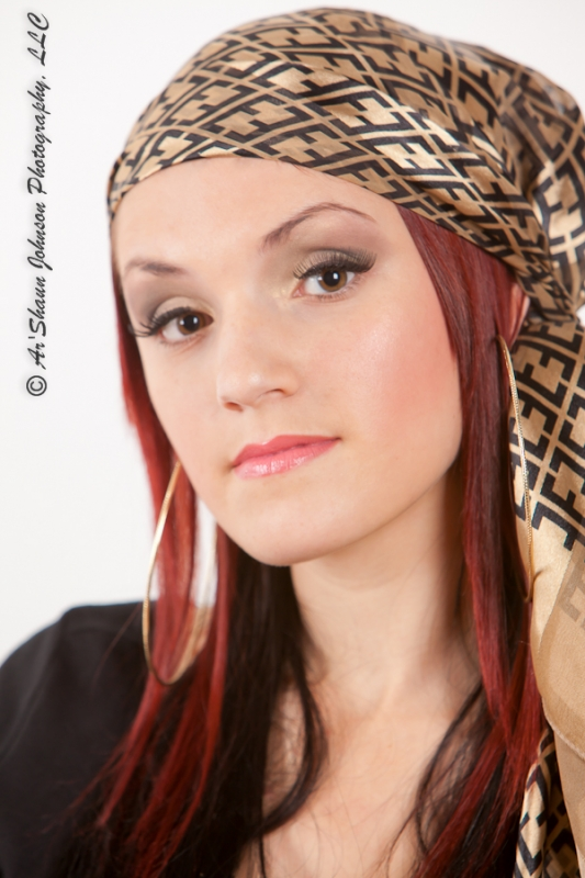 Model Kara Stienfeld, photo shoot with Ar
