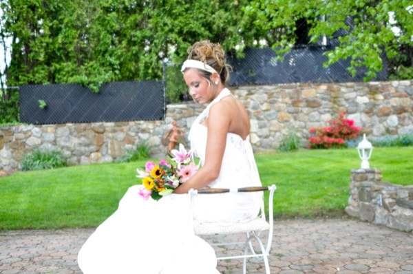 Bridal Hair and Makeup in CT - The wedding day