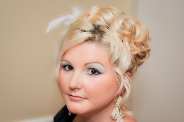 Bridal Hair and Makeup in CT - Fall Photo shoot