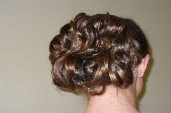 Bridal Hair and Makeup in CT - Prom updo